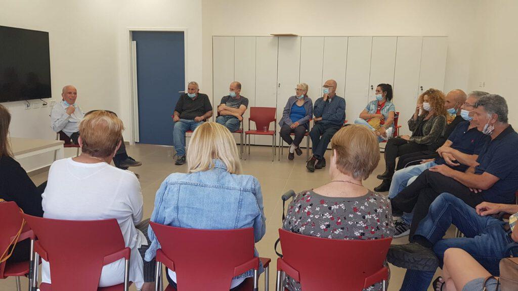 קבוצת תמיכה לחולי הפרקינסון באשקלון