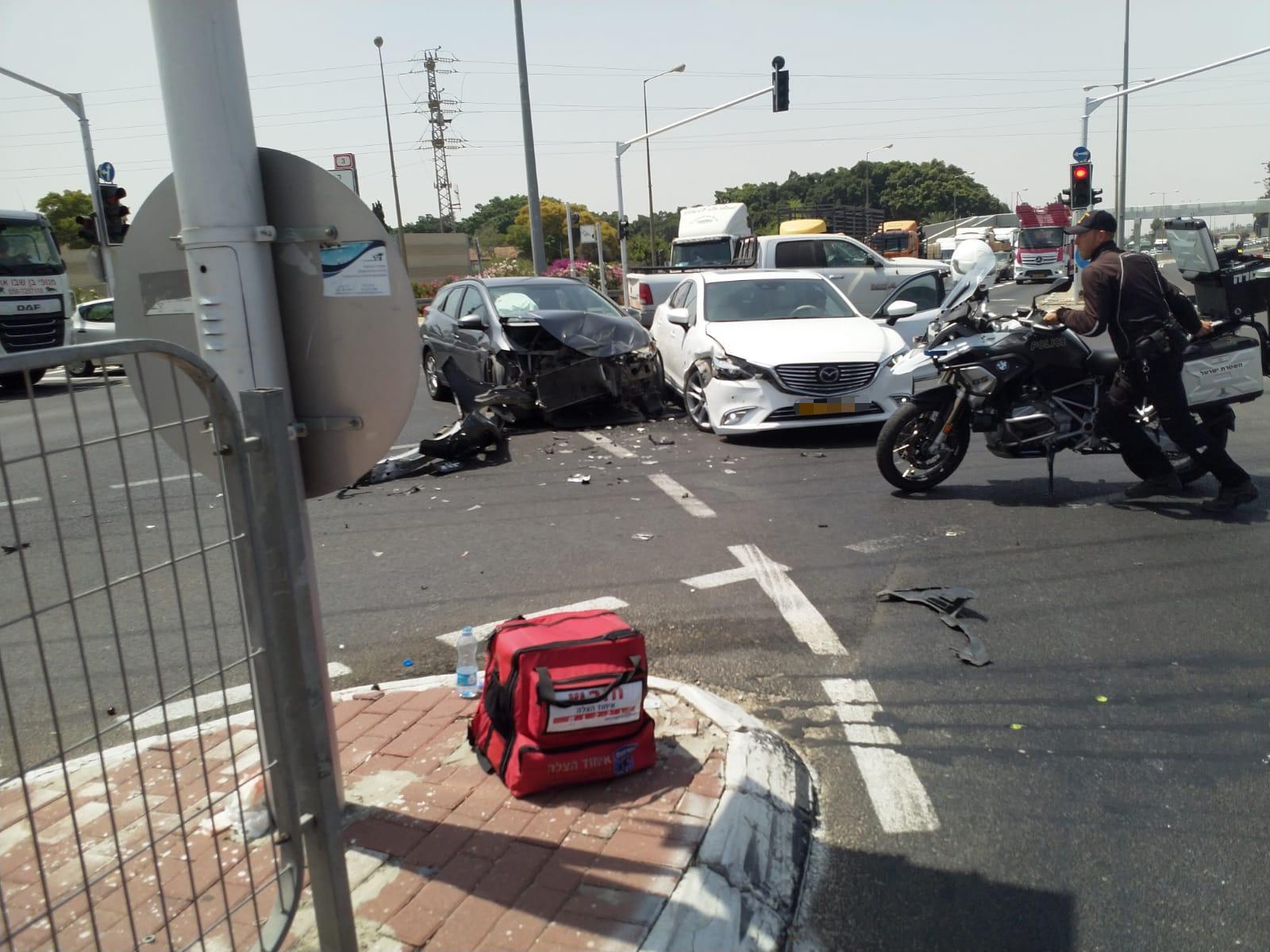 איחוד הצלה, תאונת דרכים