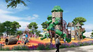 פארק משחקים חדש באשקלון