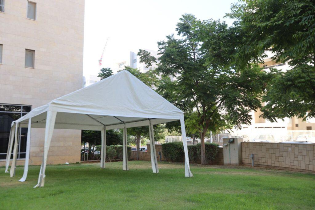 אוהל תפילה באשקלון