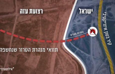הותר לפרסום: האירוע שהחל אתמול – מנהרה שחדרה לשטח ישראל – כל הפרטים
