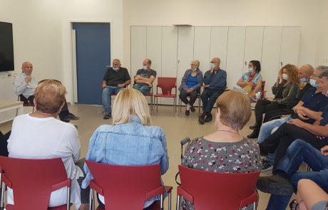 חדש באשקלון: קבוצת תמיכה במיקום ייעודי באשקלון למתמודדי מחלת הפרקינסון