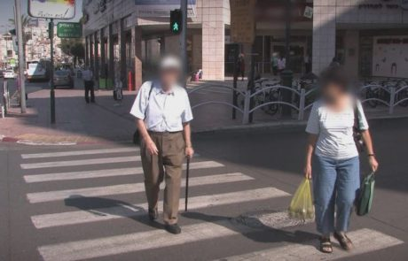 באשקלון נפגעו בעשור החולף למעלה מ-170 קשישים הולכי רגל בתאונות דרכים