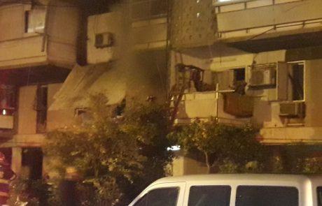 פיצוץ בבניין מגורים באשקלון – בת 50 פונתה ממקום במצב בינוני עד קשה