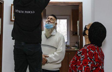 עיריית אשקלון רכשה והתקינה גלאי עשן בבתי קשישים