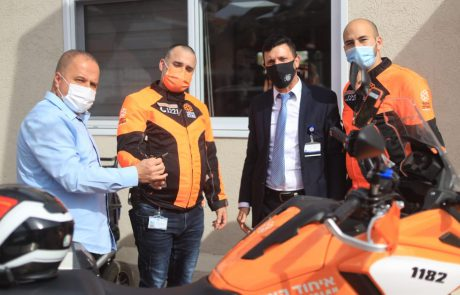 ראש העיר ביקר בסניף עמותת 'נר דוד אבי' ובירך על פעילותה