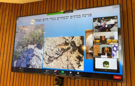 """ראש העיר תומר גלאם השתתף הבוקר בוועדת הפנים והגנת הסביבה; ראש העיר: """"מטרתי כראש העיר היא להבטיח את בריאותם של תושבי העיר"""""""