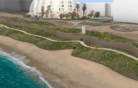 האם הפעם זה יצליח? הוועדה לשמירה על הסביבה החופית אישרה: התכנית להגנה על המצוק יוצאת לדרך