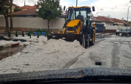 שלג בירושלים? עכשיו גם באשקלון