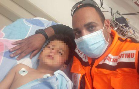 החובש של איחוד הצלה שהוזנק לתאונה קשה גילה כי מדובר באחיין של אישתו