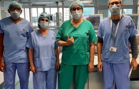 צוות ישראלי בשיתוף המרכז הרפואי ברזילי יצא לאפריקה לסייע לצוותים המקומיים
