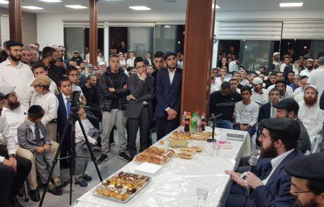 שיעור מיוחד בישיבת שובה ישראל אשקלון