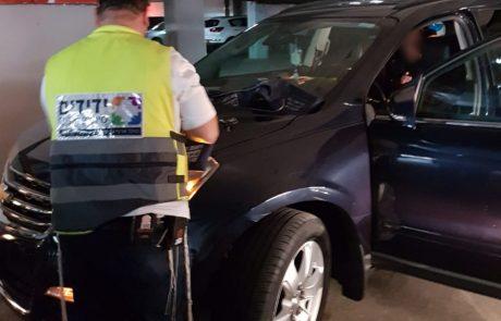 הסתיים בשלום: תינוק ננעל ברכב בחניה בקניון גירון