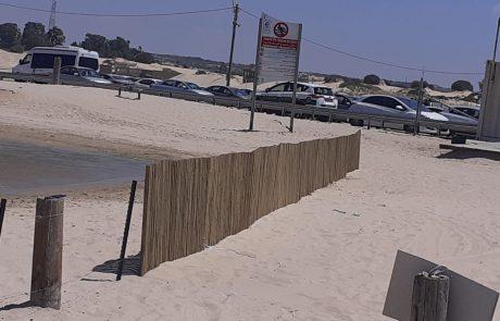 אירועי יום העצמאות: חוף זיקים נסגר עקב תפוסה מלאה