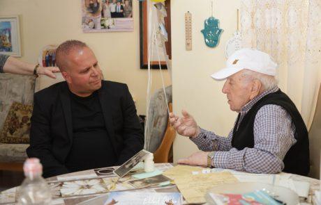 """דואגים לקשישים: עיריית אשקלון וצה""""ל בשיתוף פעולה מרגש למען הקשישים ושורדי השואה"""