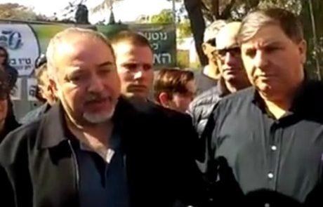 ליברמן בדרום: ישראל לא תתקדם בלי השבויים והנעדרים