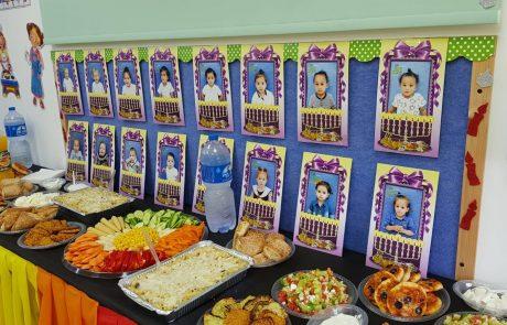 מסיבת חנוכה לילדי מעון 'גני אביב'