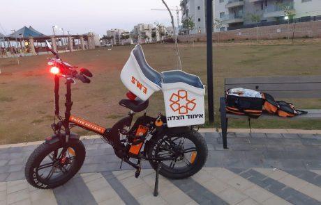 כיצד תרומת אופניים חשמליים סייעה להצלת חייו של תינוק באשקלון?