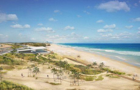 יוקם חוף רחצה חדש ברצועת החוף הצפונית