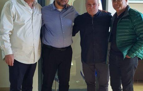 """ראש העיר נפגש עם ארגון נכי צה""""ל"""