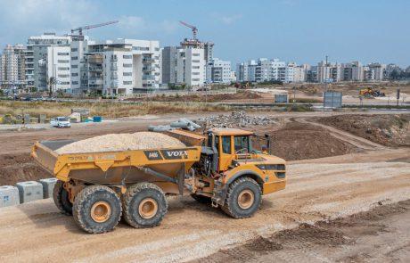 החלו העבודות להקמת פארק ׳אקו-ספורט׳ בשכונת אגמים