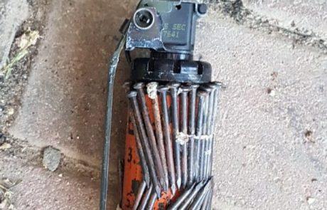 נמנע פיגוע פלילי גדול באשקלון? – 2 חשודים, רימון עם מסמרים ואקדח
